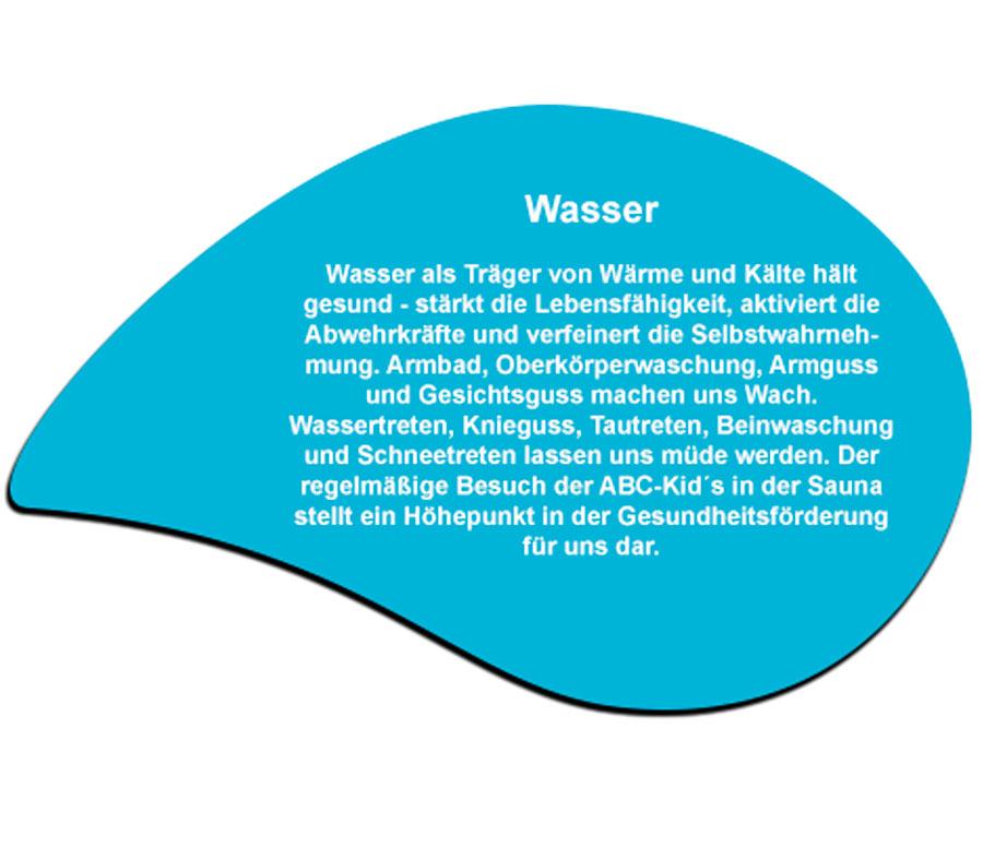 Wasser - Eine der 5 Säulen des Gesundheitskonzeptes von Sebastian Kneipp